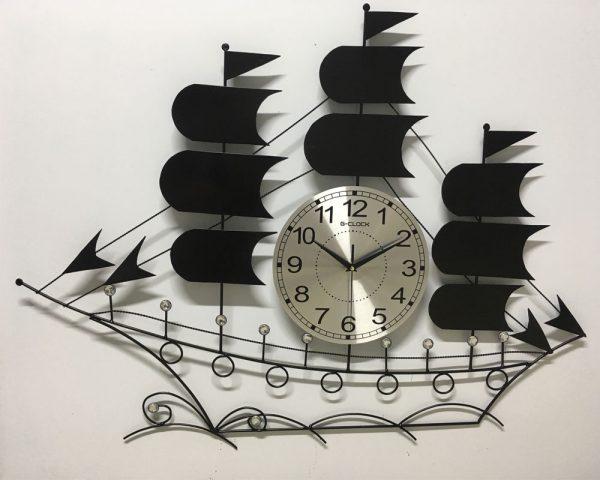 Thiết kế đồng hồ thuận buồm xuôi gió màu đen